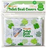 Mommy's Helper MOH-61778 Froggie - Cubre-asientos WC desechables (10 unidades), diseño de ranas