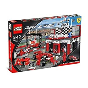 LEGO Racers 8672 Ferrari Finish Line