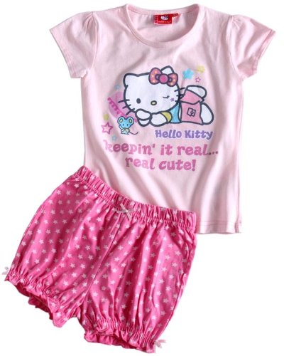 Hello Kitty Shorty-Set, pink