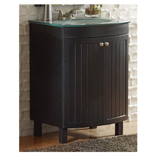 Allen Roth 24 Espresso Cavanaugh Bath Vanity With Top Lw103c18b
