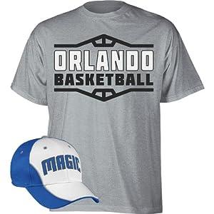 NBA adidas Orlando Magic Hat and T-Shirt Combo by adidas
