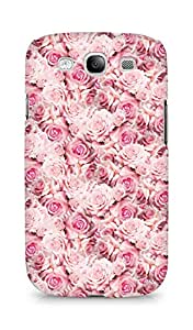 AMEZ designer printed 3d premium high quality back case cover for Samsung Galaxy S3 i9300 (pink rose)