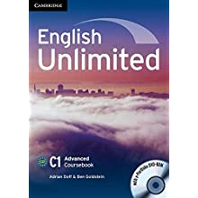 English Unlimited Advanced Coursebook with e-Portfolio (DVD-ROM)