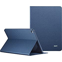 iPad Pro 9.7 Case, iPad Pro 9.7 inch Case, ESR PU Leather Smart Cover Folio Stand Case with Auto Sleep/Wake Function for 9.7 inch iPad Pro 2016 Release_De Nimes