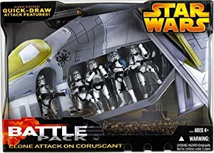 Clone Troopers Attack On Coruscant Battle Pack
