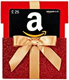Amazon.co.uk Gift Card - Reveal - £25 (Red Gift Box)
