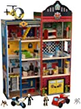 KidKraft Deluxe Home Town Heroes Rescue Wooden Play Set (63265)