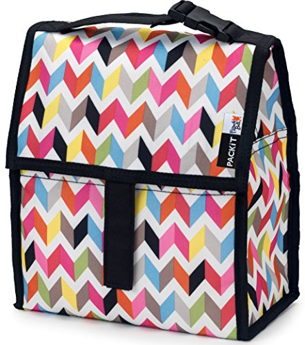 PackIt Freezable Lunch Bag with Zip Closure, Ziggy (Packing Made Simple compare prices)