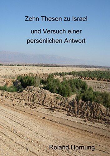 Buchcover: Zehn Thesen zu Israel