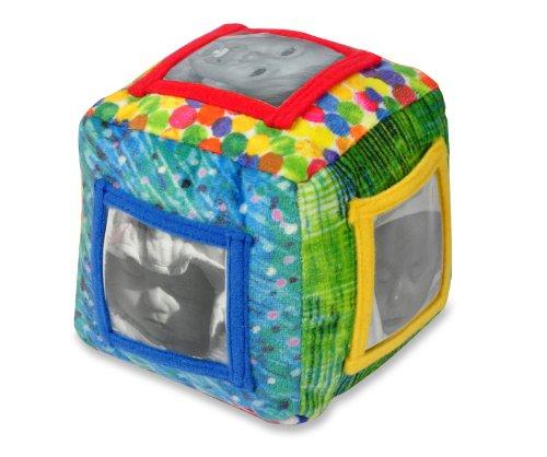 Imagen principal de Joy Toy 552360 - Cubo blando con bolsillos para las fotos del bebé (12 cm) [importado de Alemania]