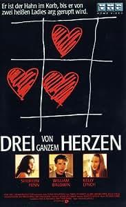 Drei von ganzem Herzen [VHS]
