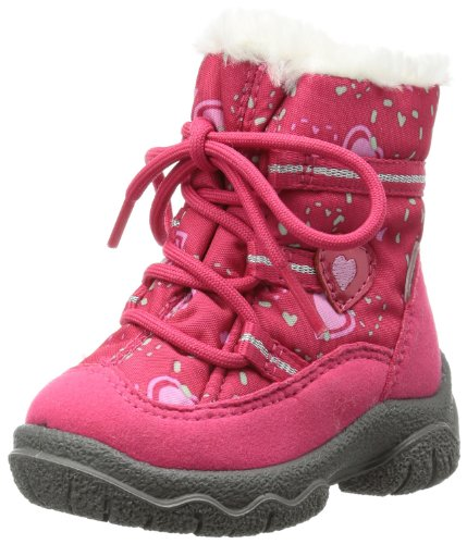 Superfit Fairy 10006164, Mädchen Schneestiefel, Pink (Pink Kombi 64), EU 21