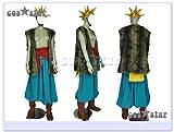 ドラゴンクエストVIII 空と海と大地と呪われし姫君 ヤンガス風 コスプレ衣装 男性オーダーサイズ
