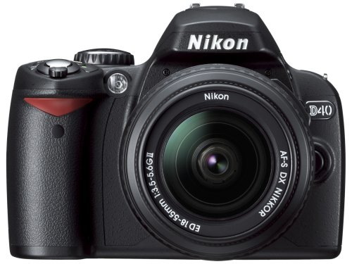 Nikon D40 (with 18-135mm Lens) is one of the Best Point and Shoot Digital Cameras for Travel, Child, Action, and Low Light Photos Under $750