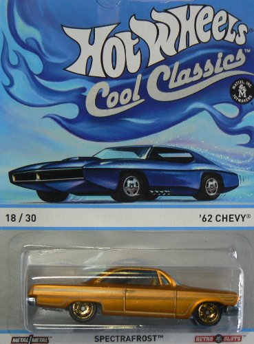 Hot Wheels Cool Classics Spectrafrost '62 Chevy - 1