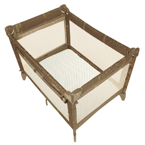 Cheapest Price! Kushies Play Pen Playard Fitted Sheet, Natural Dots