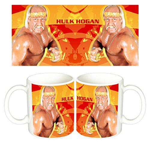 Hulk Hogan TNA Wrestling WWE Tazza Mug