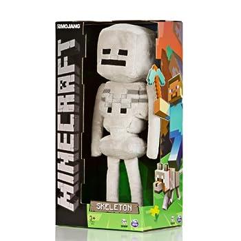 """Jinx Minecraft Overworld - Skeleton Plush, 12"""" by Jinx"""