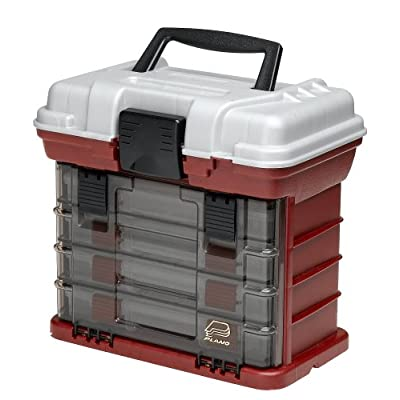 Plano 3500 size tackle box fishing gear new for Plano fishing tackle boxes
