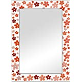 The Attic Naples Mirror Frame (Glossy Finish, Brown)