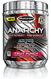 MuscleTech Anarchy Pre-Workout Fruit Punch Powder, 150 Gram