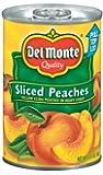 Del Monte Sliced Peaches 15.25 oz