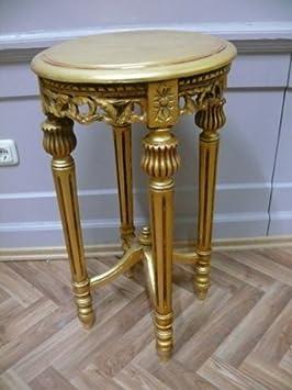 beistelltisch tisch rund antik stil barock alta0332gofi dee44. Black Bedroom Furniture Sets. Home Design Ideas