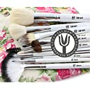 YALMEH Professional Makeup Brush Set| Pro Cosmetic 12-Piece, Makeup Brush Set With Case| Makeup Brush Set| Eye Makeup Brush Set| Synthetic Makeup Brush Set| Yalmeh Professional Makeup Brush Set Could Be The Last Makeup pro Brush Set You Ever Need! Travel Makeup Brushes Set. Different Experience With Yalmeh, Best Makeup Brush Set| Face Makeup Brush Set