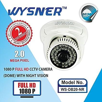 Wysner WS-DB20-NR 2MP Full HD Dome CCTV Camera