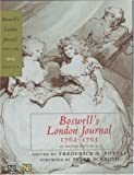 Boswell's London Journal 1762-1763 (0300093012) by Boswell, James
