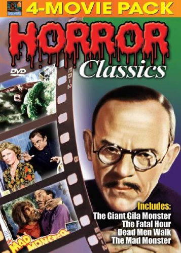 Horror Classics 4 Movie Pack Vol. 3