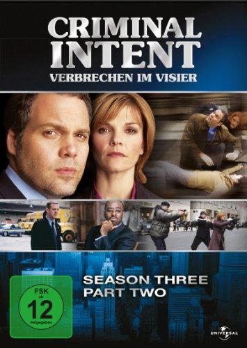 Criminal Intent - Verbrechen im Visier, Season Three, Part Two [3 DVDs]