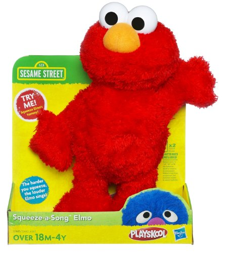 Sesame Street Squeeze A Song Elmo