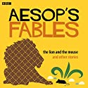 Aesop: The Lion and the Mouse and Other Stories Audiobook by Rob John (Adapted by),  Aesop Narrated by Richard Briers, Brenda Blethyn, Jonathan Pryce, Alison Steadman, Jane Horrocks, Richard E. Grant