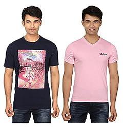 Strak Cotton Men's Casual T-Shirt (STR2058_XXL)