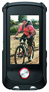 Sony Bloggie Sport (MHSTS22) Waterproof Video Camera with 4x Digital Zoom and 2.7-Inch Touchscreen LCD (Red) (New Model)