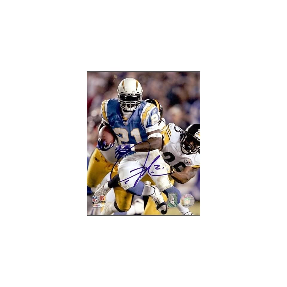 LaDainian Tomlinson San Diego Chargers NFL Autographed/Hand Signed