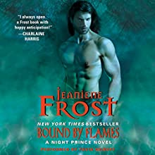 Bound by Flames: Night Prince, Book 3 (       UNABRIDGED) by Jeaniene Frost Narrated by Tavia Gilbert