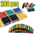 280 Pcs Heat Shrink Car Electrical Wi...