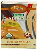 Pacific Natural Foods Organic Almond Non-Dairy Beverage, Low Fat Vanilla, 8-Ounce Pouches (Pack of 24)