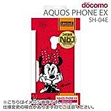 レイ・アウト AQUOS PHONE EX SH-04E用ディズニー・シェルジャケット/ミニー RT-DSH04EA/MN
