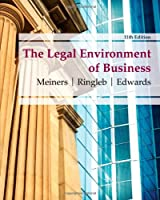 The Legal Environment of Business, 11th Edition Front Cover