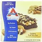 Atkins Advantage Cashew Trail Mix Bar...