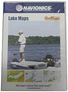 Navionics HotMaps Premium East U.S. Two-Dimensional Lake Maps on SD Card by Navionics