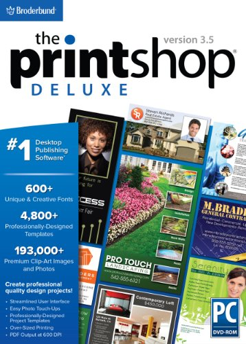 The Print Shop Deluxe 3.5 (Printing Programs compare prices)