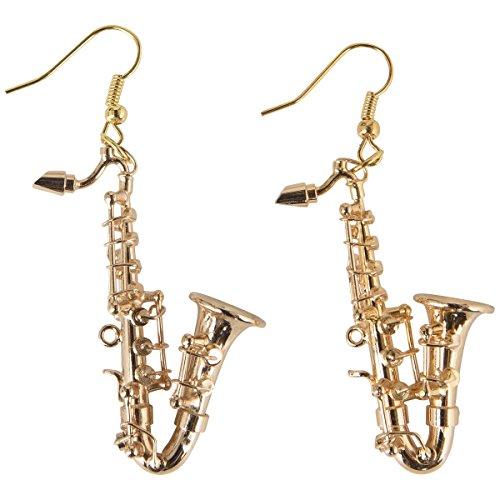 Ohrhnger-Saxofon-Schnes-Geschenk-fr-Musiker-mit-Geschenkverpackung