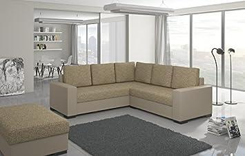 Divano ad angolo Canis con sgabello divano ad angolo Divano Divano Interni casa 01296