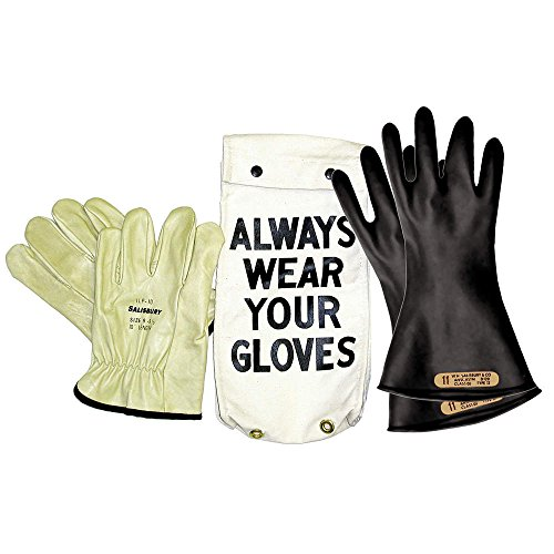 Electrical Glove Kit, Size 7, Black