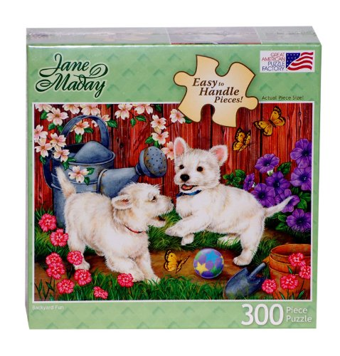 Great American Puzzle Factory Backyard Fun 300 Piece Puzzle