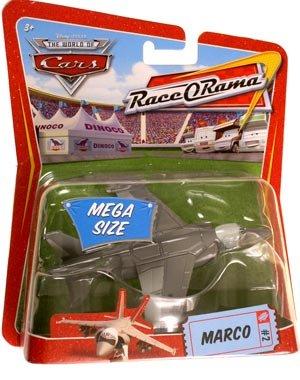 Buy Low Price Mattel Cars Mega Size Marco Jet #2 Figure (B001OOBVAO)